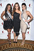 Miss Teen USA 2010 Kamie Crawford, Miss Ireland  2010 Rozanna Purcell , Miss USA 2010 Rima Fakih<br /> photo by Rob Rich © 2010 robwayne1@aol.com 516-676-3939