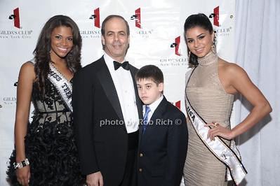 Miss Teen USA Kamie Crawford,Dr. Andrew J. Dannenberg, Kerry Dannenberg, Miss USA 2010  Rima Fakih  photo by Rob Rich © 2010 robwayne1@aol.com 516-676-3939