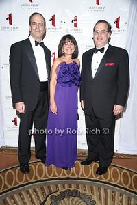 Dr. Andrew J. Dannenberg, Lily Safani, Dr. Elliott Sigal photo by Rob Rich © 2010 robwayne1@aol.com 516-676-3939