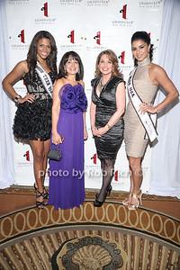 Miss Teen USA Kamie Crawford, Lily Safani, Rozanna Purcell , Miss USA Rima Fakih photo by Rob Rich © 2010 robwayne1@aol.com 516-676-3939