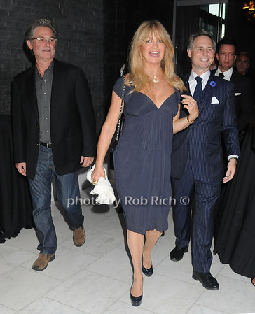 Kurt Russell, Goldie Hawn, Jason Binn photo by Rob Rich/SocietyAllure.com © 2013 robwayne1@aol.com 516-676-3939