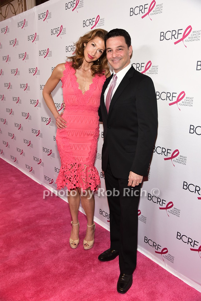 Alysia Reiner, David Allen Basche (husband)