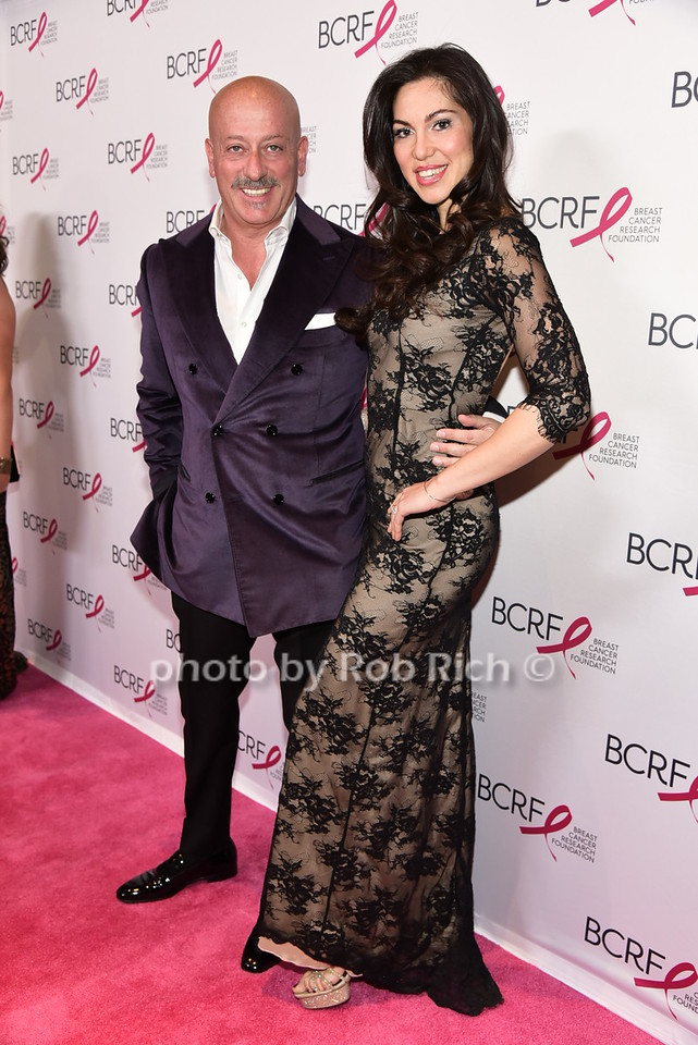 Domenico Vacca (Fashion Designer) and Eleonora Pieroni (Model, fiance' of Domenico Vacca)