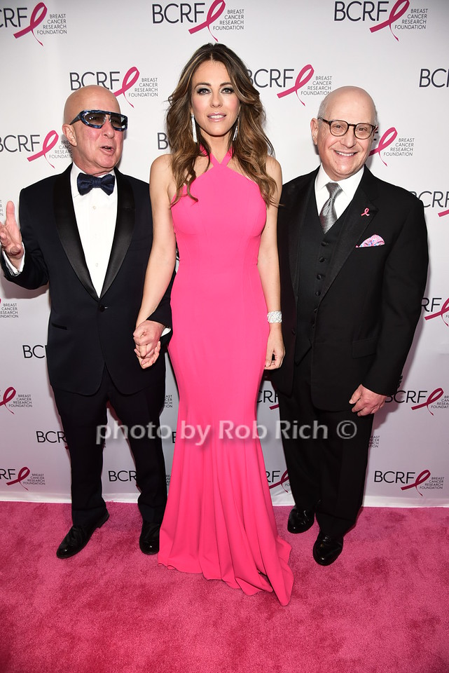 Paul Shaffer, Elizabeth Hurley, Dr.Larry Norton