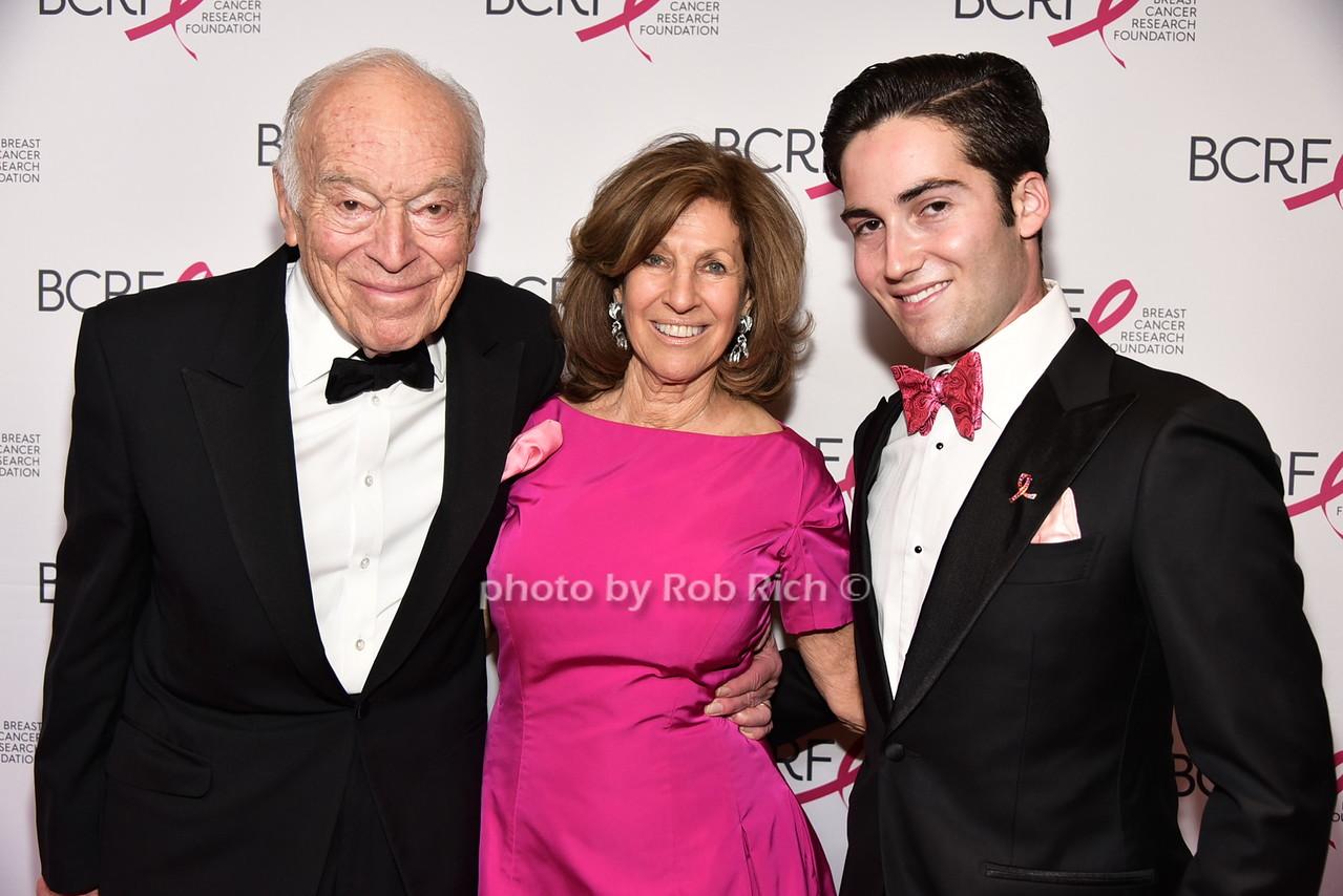 Leonard Lauder, Judith Lauder, Josh Lauderphoto by Rob Rich/SocietyAllure.com © 2016 robwayne1@aol.com 516-676-3939