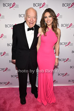 Leonard Lauder, Elizabeth Hurley photo by Rob Rich/SocietyAllure.com © 2016 robwayne1@aol.com 516-676-3939