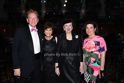 Anthony von Mandl, Myra Biblowit, Roz Goldstein,Dr.Debra von Mandl  photo by Rob Rich/SocietyAllure.com © 2016 robwayne1@aol.com 516-676-3939