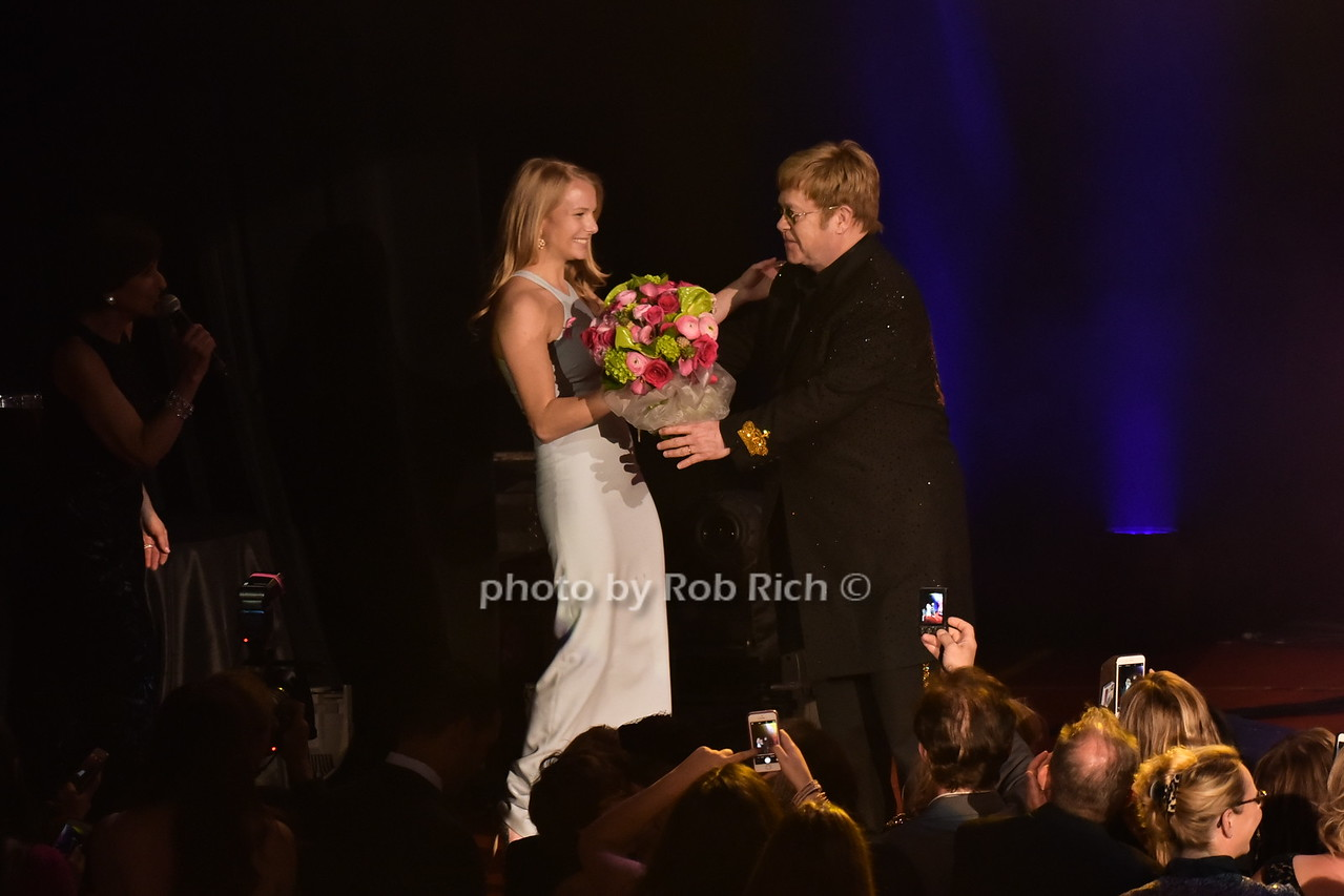 Danielle Lauder, Sir Elton Johnphoto by Rob Rich/SocietyAllure.com © 2016 robwayne1@aol.com 516-676-3939