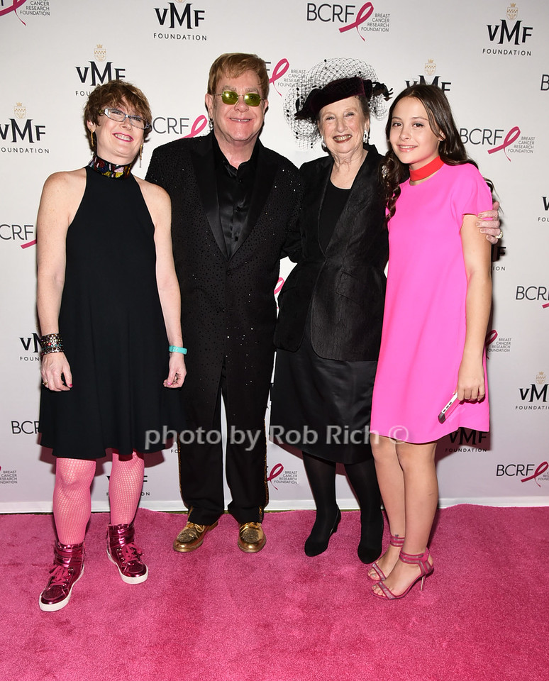 guest, Sir Elton John, Roz Goldstein, guest