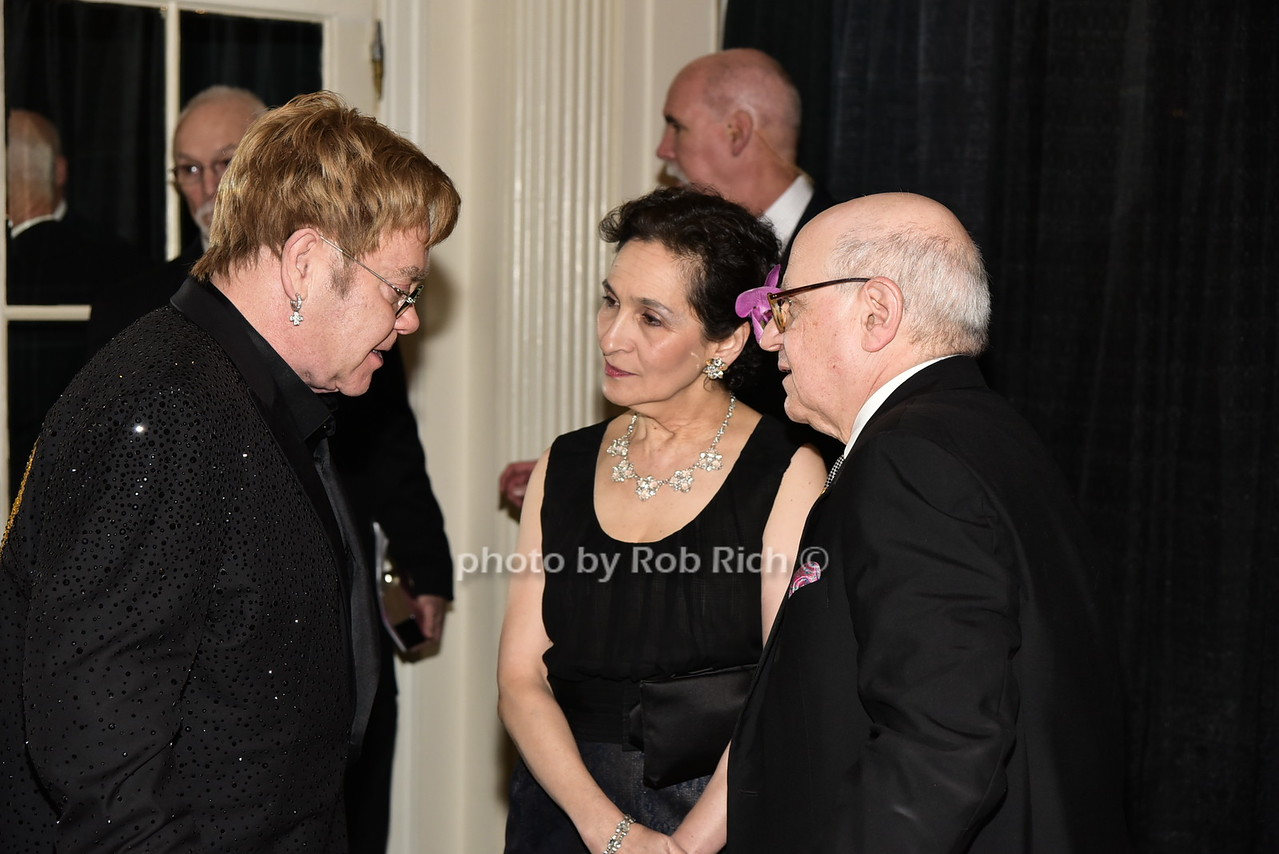 Sir Elton John, Rachel Norton, Dr.Larry Norton