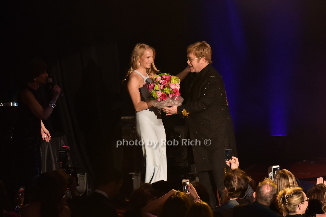 Danielle Lauder, Sir Elton John
