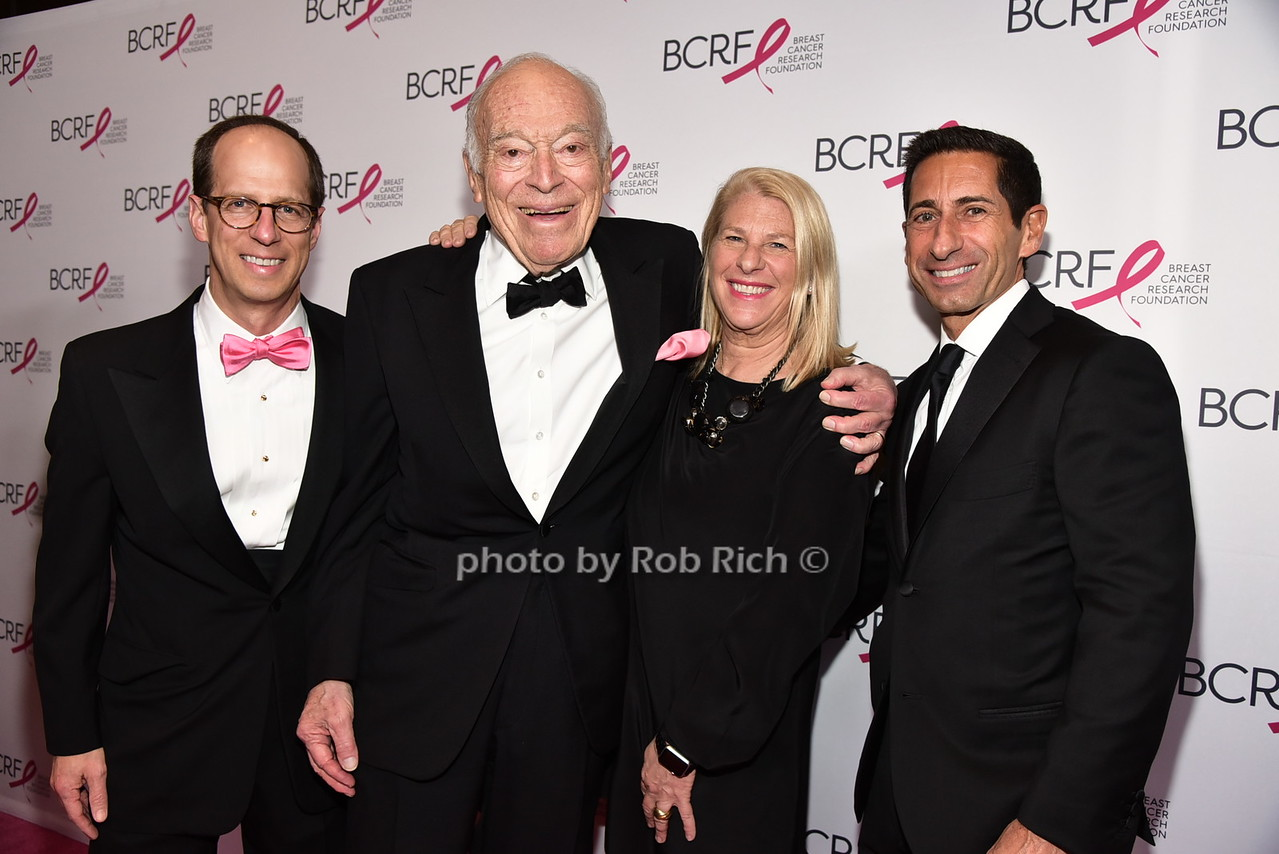 guest, Leonard Lauder, Kay Krill, Gary Muto (president of ANN,Inc.)