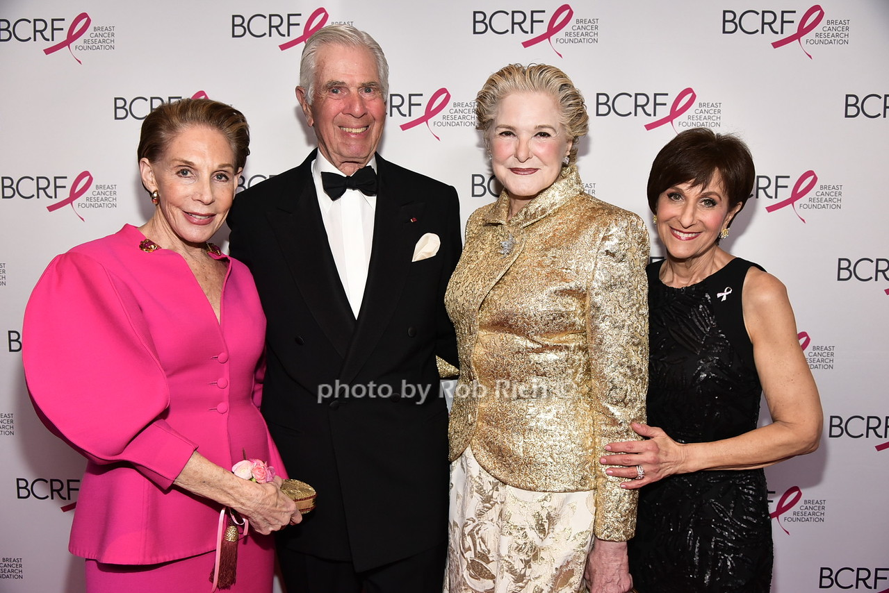 Melinda Blinken (BCRF),Alan Blinkin, Gail Hilson, Myra Biblowitphoto by Rob Rich/SocietyAllure.com © 2016 robwayne1@aol.com 516-676-3939
