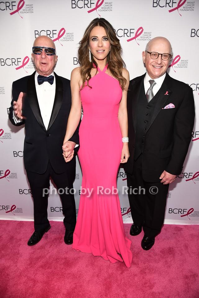 Paul Shaffer, Elizabeth Hurley, Dr.Larry Nortonphoto by Rob Rich/SocietyAllure.com © 2016 robwayne1@aol.com 516-676-3939