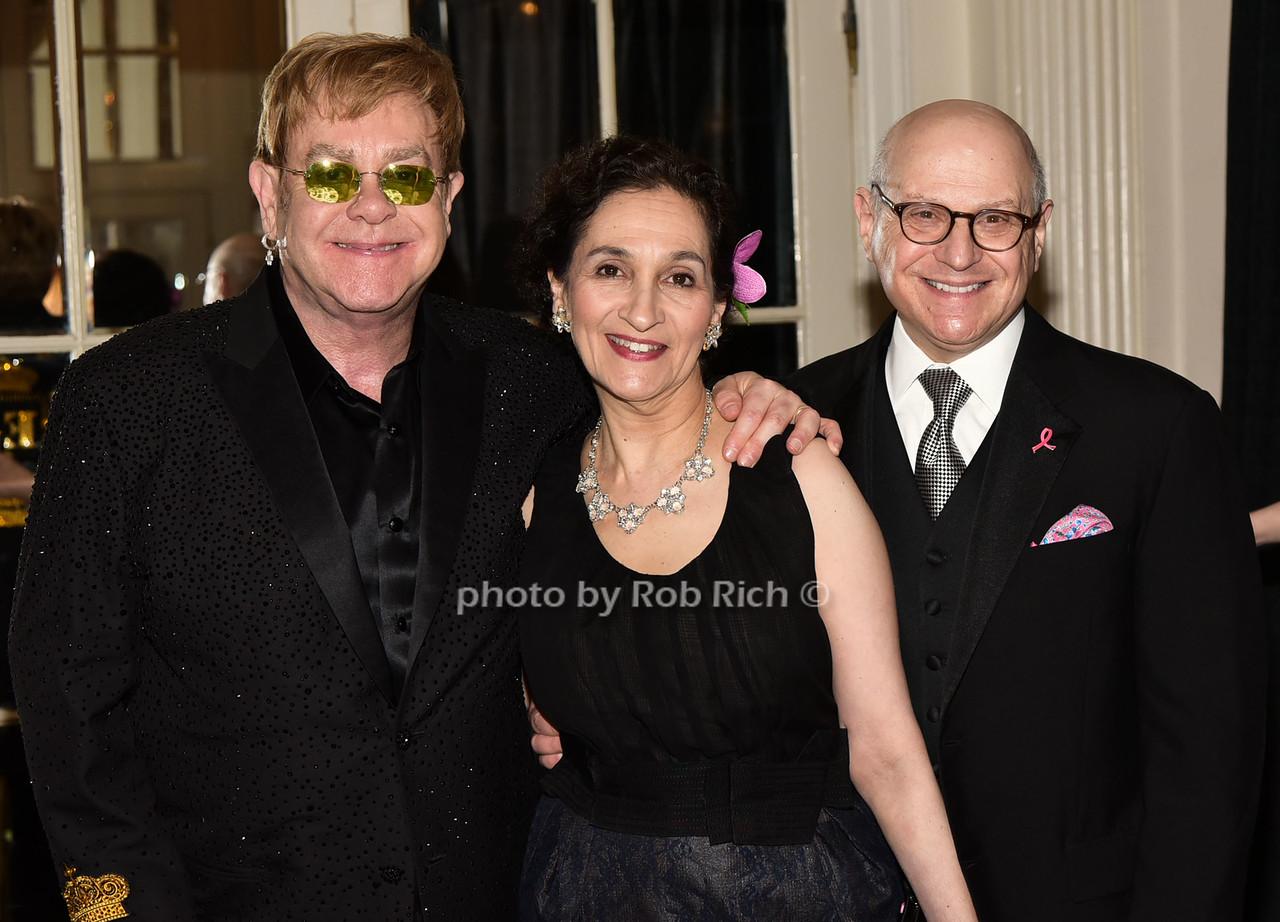 Sir Elton John, Rachel Norton, Dr.Larry Nortonphoto by Rob Rich/SocietyAllure.com © 2016 robwayne1@aol.com 516-676-3939