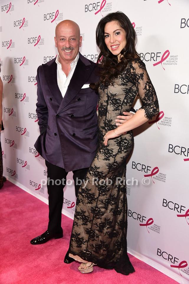 Domenico Vacca (Fashion Designer) and Eleonora Pieroni (Model, fiance' of Domenico Vacca)photo by Rob Rich/SocietyAllure.com © 2016 robwayne1@aol.com 516-676-3939