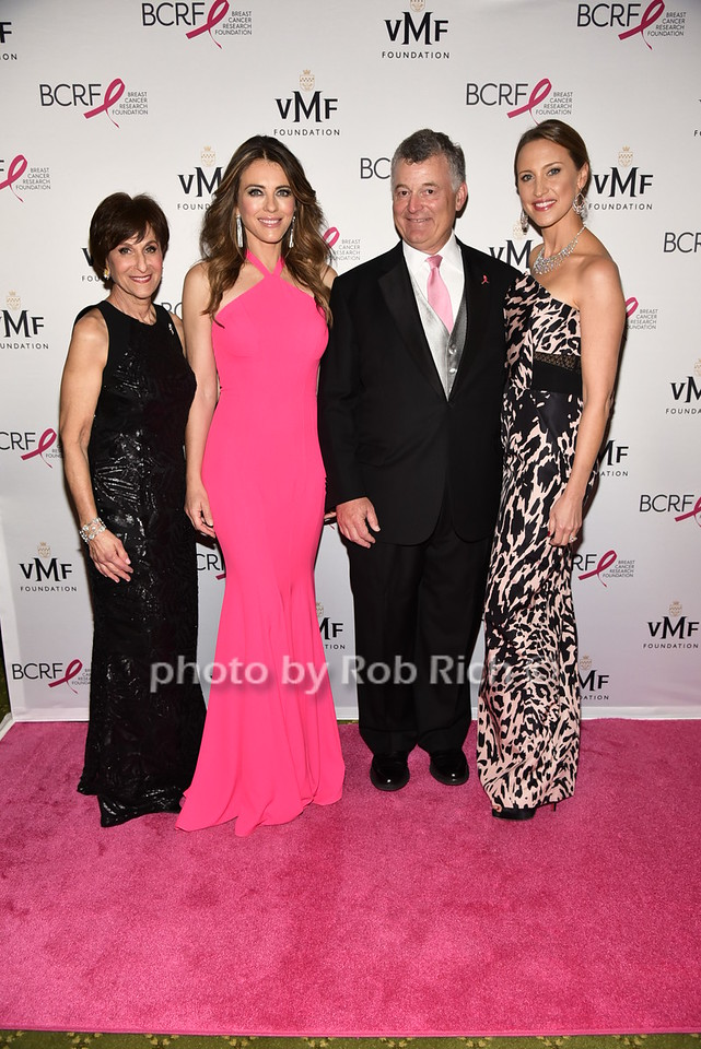 Myra Biblowit,Elizabeth Hurley, William Lauder, Kinga Lampbert