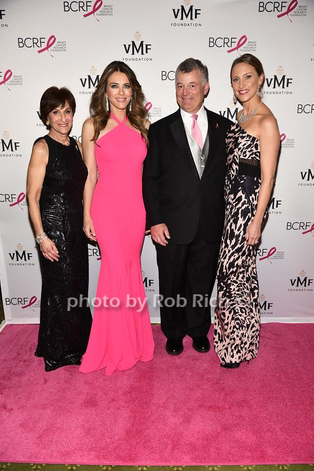Myra Biblowit,Elizabeth Hurley, William Lauder, Kinga Lampbertphoto by Rob Rich/SocietyAllure.com © 2016 robwayne1@aol.com 516-676-3939