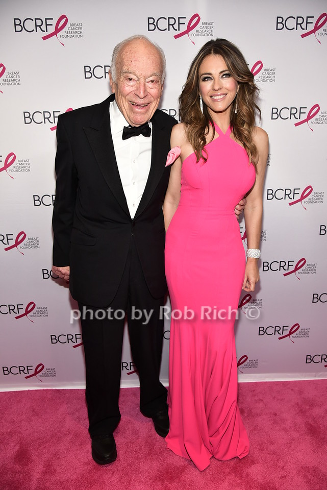 Leonard Lauder, Elizabeth Hurleyphoto by Rob Rich/SocietyAllure.com © 2016 robwayne1@aol.com 516-676-3939