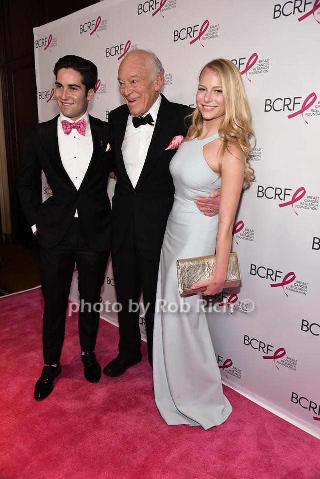 Josh Lauder, Leonard Lauder, Danielle Lauderphoto by Rob Rich/SocietyAllure.com © 2016 robwayne1@aol.com 516-676-3939