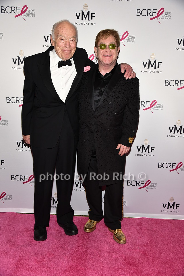 Leonard Lauder, Sir Elton Johnphoto by Rob Rich/SocietyAllure.com © 2016 robwayne1@aol.com 516-676-3939