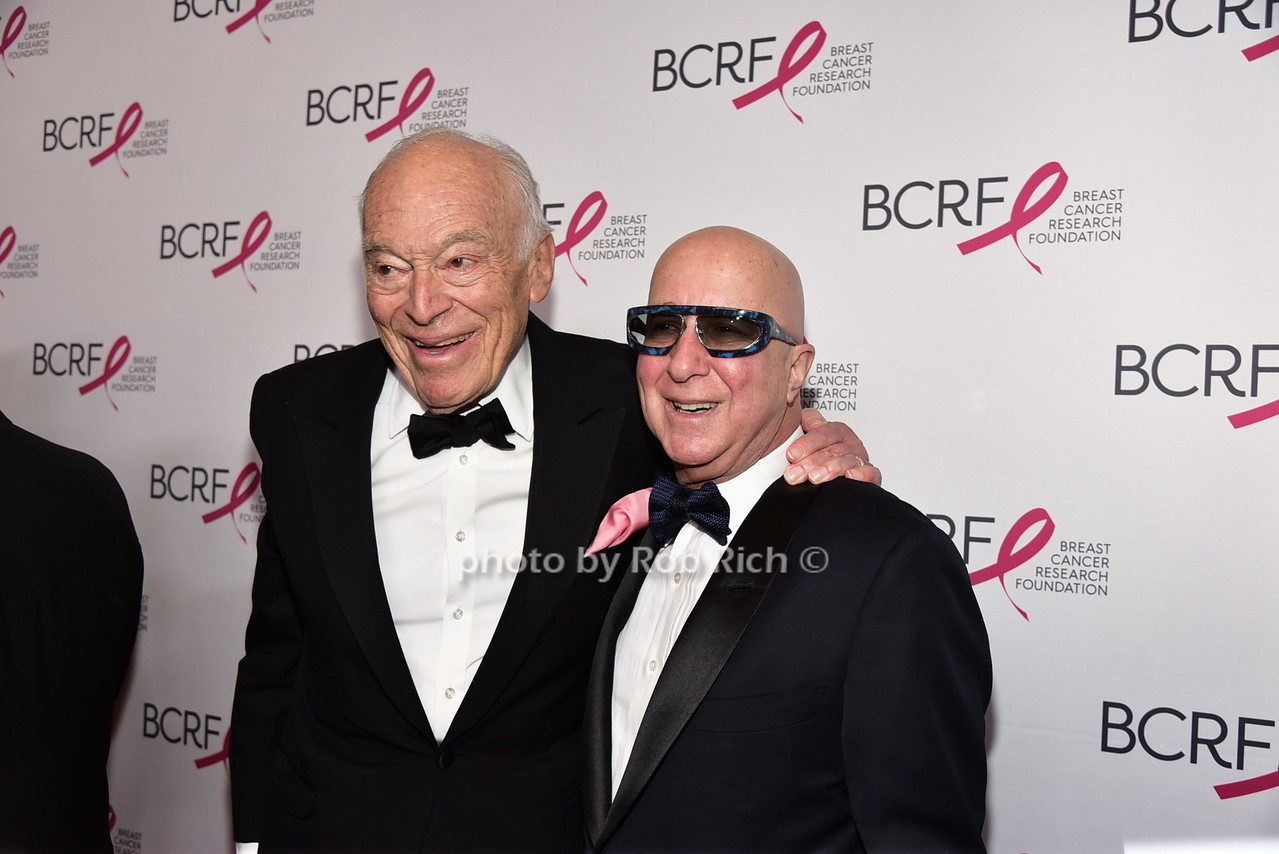 Leonard Lauder, Paul Shaffer