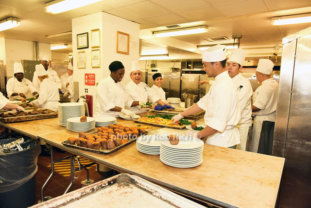 Kitchen staff at Warldorf Astoriaphoto by Rob Rich/SocietyAllure.com © 2016 robwayne1@aol.com 516-676-3939