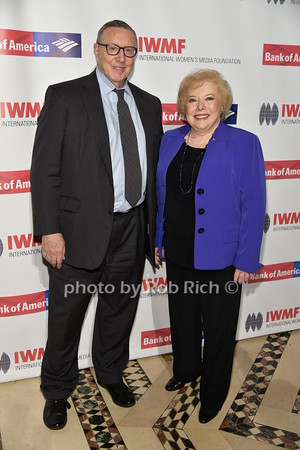 Norman Perlstine, Linda Deutsch photo by Rob Rich/SocietyAllure.com © 2015 robwayne1@aol.com 516-676-3939
