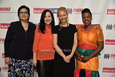 Lourdes Ramirez, Elisa Munoz, Anna Nemtsova, Mwape Kumwenda photo by Rob Rich/SocietyAllure.com © 2015 robwayne1@aol.com 516-676-3939