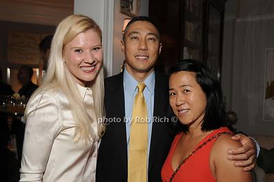 Bettina Weiner, Jin Chang, Val Chan photo by Rob Rich/SocietyAllure.com © 2012 robwayne1@aol.com 516-676-3939