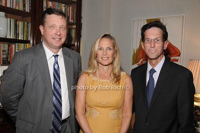 Ron Zdrogeski, Ronda Mace, Jeffrey Mace photo by Rob Rich/SocietyAllure.com © 2012 robwayne1@aol.com 516-676-3939