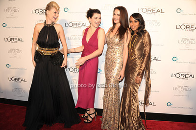 Aimee Mullins, Julianna Marguiles, Andie MacDowell, Kerry Washington photo by Rob Rich/SocietyAllure.com © 2011 robwayne1@aol.com 516-676-3939