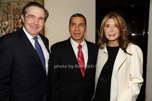 Bill Sclight, Governor David Paterson, Cheri Kaufman<br /> photo by Rob Rich/SocietyAllure.com © 2013 robwayne1@aol.com 516-676-3939