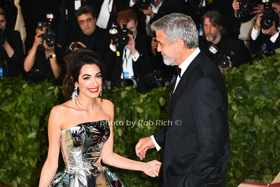 Amal Clooney, George Clooney photo by Rob Rich/SocietyAllure.com ©2018 robrich101@gmail.com 516-676-3939
