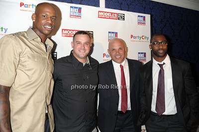 Al Harrington, Troy Yocum, Jim Riley, Darrelle Revis photo by Rob Rich © 2011 robwayne1@aol.com 516-676-3939