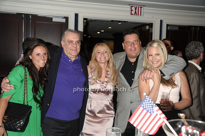 guest, Vincent Curatola, guest, Steve Schirripa, guest photo by Rob Rich © 2011 robwayne1@aol.com 516-676-3939