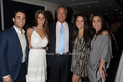 Jason Tillis, Jesse Borinsky, Bob Tillis Lindsey Tillis, Meryl Tillis photo by Rob Rich © 2011 robwayne1@aol.com 516-676-3939
