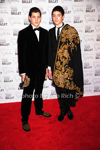 Peter Brandt Jr. and Harry Brandt New York City Ballet Fall Gala 2012 held at Lincoln Center- Arrivals New York City, USA- 09-20-12 photo by Rob Rich/SocietyAllure.com © 2012 robwayne1@aol.com 516-676-3939