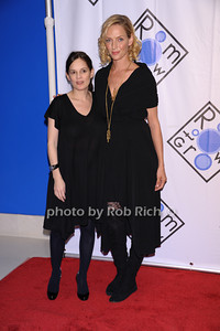 Julie Burns, Uma Thurrman  photo by Rob Rich © 2007 robwayne1@aol.com 516-676-3939