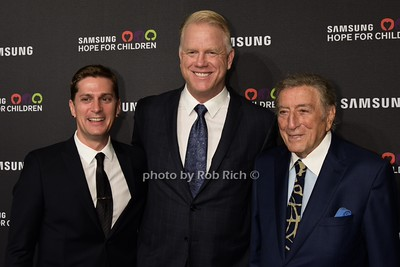 Rob Thomas, Boomer Esiason, Tony Bennett photo by Rob Rich/SocietyAllure.com © 2015 robwayne1@aol.com 516-676-3939