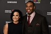 Demi Lovato, Rashad Jennings<br /> photo by Rob Rich/SocietyAllure.com © 2015 robwayne1@aol.com 516-676-3939