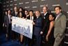 $2000000. check from Samsung<br /> photo by Rob Rich/SocietyAllure.com © 2015 robwayne1@aol.com 516-676-3939