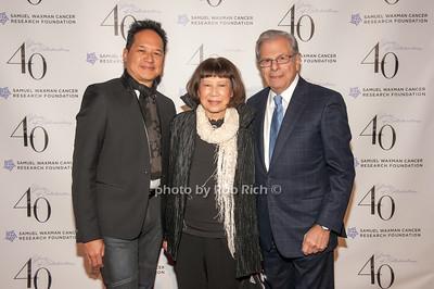Robert and Mary Kantor with Samuel Waxman