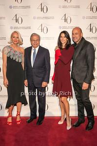 Louise Camuto, Samuel Waxman with Joyce and John Varvatos