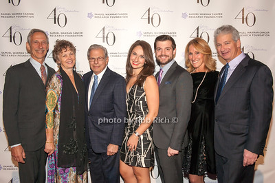 Larry Squier, Larry Levin, Samuel Waxman, Tracy and Michael Miller with Ellen and Rick Miller