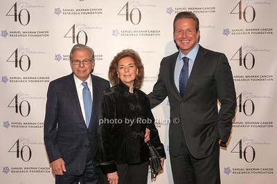 Samuel and Marion Waxman with Chris Wragge