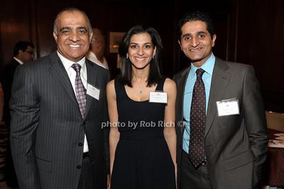 Dr. Munr Kazmir, Beena Mannan, Dr.Fahim Rahim photo by Rob Rich © 2011 robwayne1@aol.com 516-676-3939
