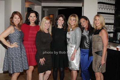 Jill Zarin, Shelia Rosenblum, Linda Rice, Tara Swibel, Iris Smith, Diane Davis and Dottie Herman