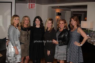 Iris Smith, Dottie Herman, Tara Swibel, Linda Rice, MIchele Rela and Jill Zarin