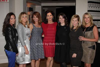 Diane Davis, Iris Smith, Jill Zarin, Shelia Rosenblum, Tara Swibel, Linda Rice and Dottie Herman